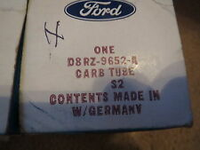 NOS 1978 1979 1980 FORD FIESTA AIR CLEANER TO HEAT SHIELD HOSE D8RZ-9652-A NEW