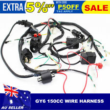 CHINESE GY6 150CC ATV QUAD WIRE HARNESS WIRING ASSEMBLY Wire Loom Harness CDI