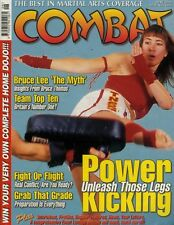 COMBAT MAGAZINE 2004 JUNE, BRUCE LEE THE MYTH