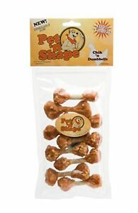 Pet n Shape Chik N Dumbbells  Dog Treat 3oz