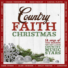 COUNTRY FAITH CHRISTMAS - CD - Sealed