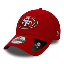 NEW ERA SAN FRANCISCO 49ERS BASEBALL CAP.9FORTY NFL THE LEAGUE RED FOOTBALL HAT