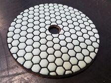 "5"" Dry Concrete Polishing Edge Pads SASE Honeycombs"