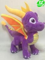 The Legend of Spyro the Dragon 10'' Game Cartoon Soft Plush Kid Toy Doll Figure