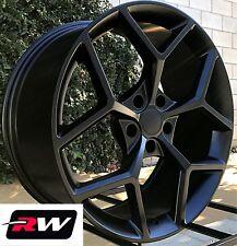 "20x9"" / 20x10"" RW Wheels Camaro Z28 Matte Black Rims fit Chevy Camaro 2010-2019"