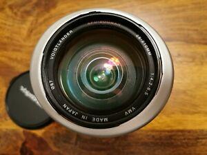 Voigtländer AF 28-210 mm APO Zoomar Minolta Sony Alpha A-Mount Vollformat