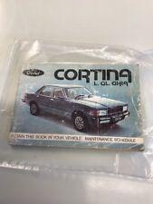 Ford Cortina L & GL & Ghia owner's manual 1979 Ford Australia