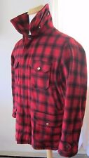 Vtg 1940's WOOLRICH MACKINAW BUFFALO PLAID HUNTING COAT Sz  44 with Pants!