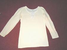 elegantes Unterhemd Langarm v. IMEC Italy Gr.44/46 Top Qualität edle Spitze warm
