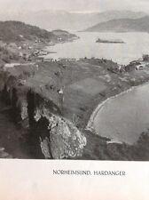 G2-1 Ephemera Undated Norway Norge  Norheimsund Hardanger