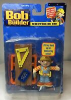 Bob The Builder Woodworking Bob Action Figure 2001 New in Box