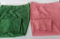 Plus Size TALBOTS HERITAGE Fit Stretch Cotton Chino Pants 18W CHOOSE COLOR