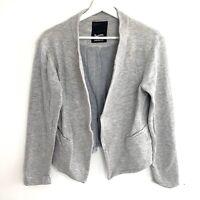 Denham Ladies Grey Blazer Jacket Size Large