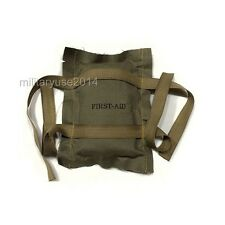 WW2 US Military Army Trooper Soldier First Aid Kit Bandage Collection Medic Gear