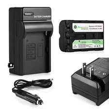 Battery + Charger for Sony NP-FM500H Alpha DSLR-A350 A200 A300 A100 A900 SLT-A57