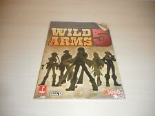 Wild Arms 5 V Strategy Guide Brand New Sealed Official Book Playstation 2 PS2