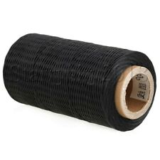 1mm Leather Sewing Natural Hemp Flat Waxed Thread Cord DIY Handicraft