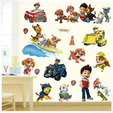 NEW DESIGN - Paw Patrol Baby Nursery Kids Room Wall Stickers Decals