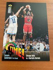 🏀 1995-96 UD Collector's Choice Basketball #353 Michael JORDAN Player's Club 🏀