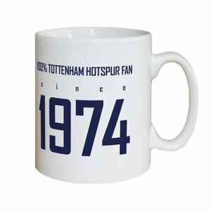 PERSONALISED Tottenham Hotspur Spurs Gifts - 100 Percent Mug - Official