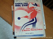 Robin MacLachlan: Under the Big Top, piano solo (Schroder and Gunther)