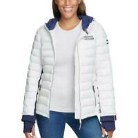 Tommy Hilfiger Women's Packable Lightweight Hooded Full Zip Jacket -$0 Free Ship