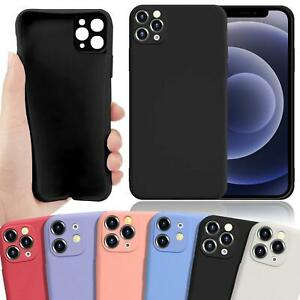 Handy Hülle für iPhone 12 11 Pro X XS Max XR Kamera Schutz TPU Handy Case Cover
