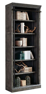 """BOOK CASE  94"""" tall AE4094G rustic gray comes fully assembled in box"""