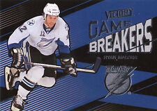 10/11 UPPER DECK VICTORY GAME BREAKERS RYAN MALONE LIGHTNING *10069
