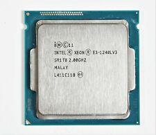 Intel Xeon E3-1240L V3 2.00GHz 4-Core 8M Cach 25W LGA 1150 Server CPU Processor