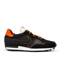 Nike Daybreak Type in Black and Orange Mens 70's-inspired style Trainers