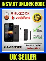 Unlock Code For Vodafone Smart 3 975 975N Instantly In Minutes 100% Safe