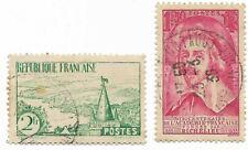 France, 1935 - Yt n° 301, n° 305 - Livraison gratuite dès 5 lots en achat groupé