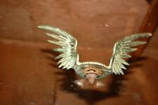 ancienne Mascotte radiateur Ailes Motometer Boyce ? bronze chromé wings