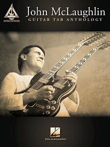John McLaughlin Guitar Tab Anthology Recorded Version Jazz Sheet Music Song Book