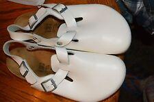birkenstock white nursing clogs shoes 42 or L 11 M 9 alpro?