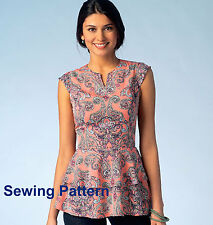 Kwik Sew K4112 PATTERN - Misses Tops - Brand New - Sizes XS - XL
