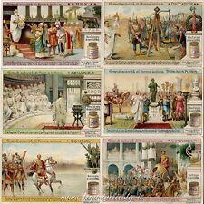 Chromo Liebig Sang. 1021 ITA Grandi Autorità di Roma Antica ANNO 1911