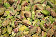 PISTACHIOS SHELLED KERNELS RAW UNSALTED, 5LBS