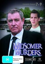 Midsomer Murders Season 7 - 9 Box Set (12 Disc Set) NEW R4 DVD