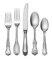 Wallace Flatware Hotel 20 Set Piece Service 4 Stainless Steel New Pc 18 10 Place