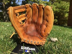 Wilson A2000 1965 Open Web Very Rare Ansonia Leather Made In USA