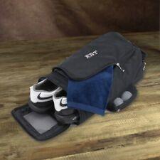 Personalized Golf Shoe Bag Black Color Engraved Shoe Bag Golf Bowling Workout