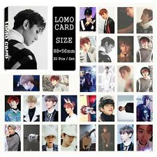 30pcs /set Super cute Kpop EXO BAEKHYUN For Life  Photocard Poster Lomo Card