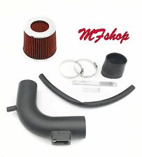 Coated Black-Red For 2013-2019 Nissan Sentra 1.8L L4 Air Intake Kit + Filter