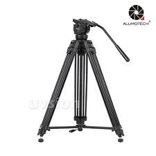 VT-2500 Max Load 15KG Pro 3-Secion Portable Tripod Stand For Camera Video Studio