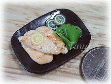 2 pcs. of Miniature Yummy Food: Fish Fillets,