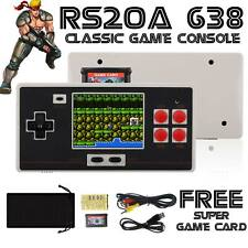FC Retro Classic Mini Handheld Game Console 638 Games Family Pocket Game Player