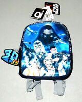 Storm Trooper Backpack STAR WARS Kids NEW Mini Bookbag NWT 4K 5K Pre School Bag