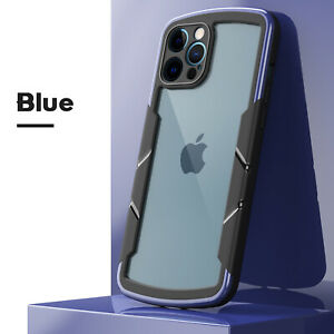 For iPhone 13 Pro Max 12 11 XS XR 8 7 Plus Shockproof Bumper Clear Defender Case